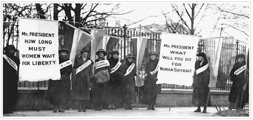 Suffrage credo