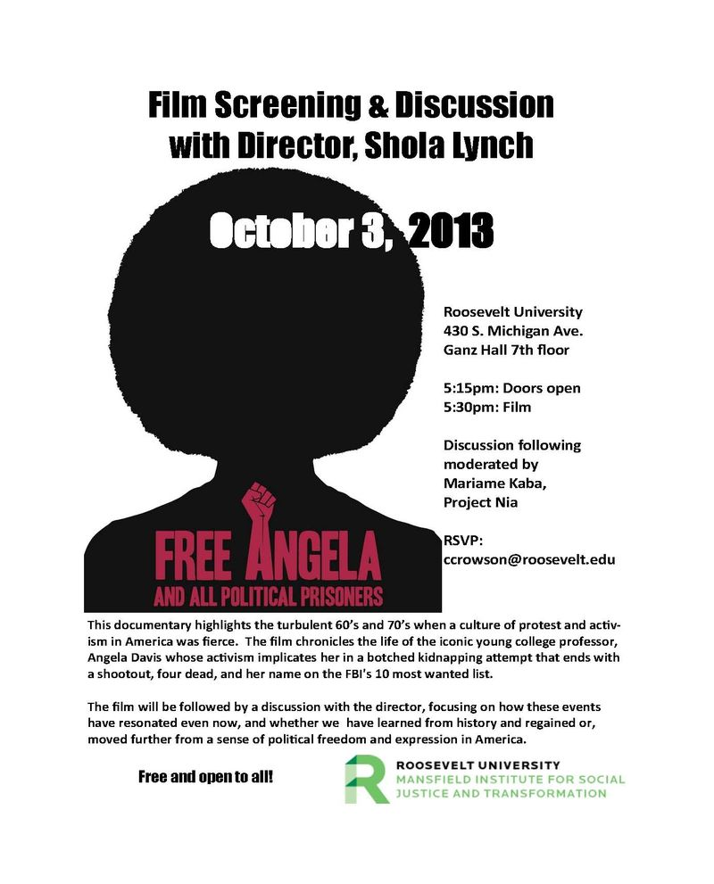 Free Angela flyer
