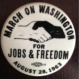 MarchOnWashington Button